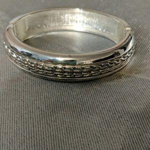 Gorgeous hinged cuff bracelet so beautiful on